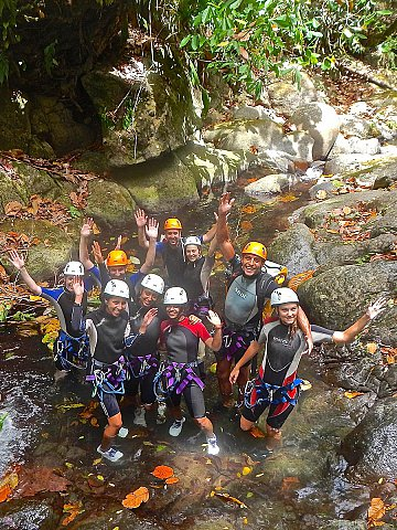 Canyoning Canopée